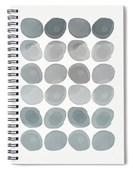 Neutral Stones- Art By Linda Woods Spiral Notebook