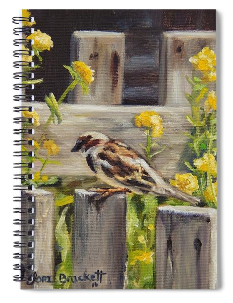 Nevada City Garden Spiral Notebook
