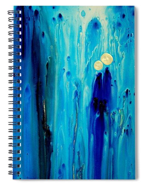 Never Alone Spiral Notebook