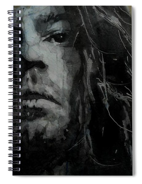Never Tear Us Apart - Michael Hutchence  Spiral Notebook
