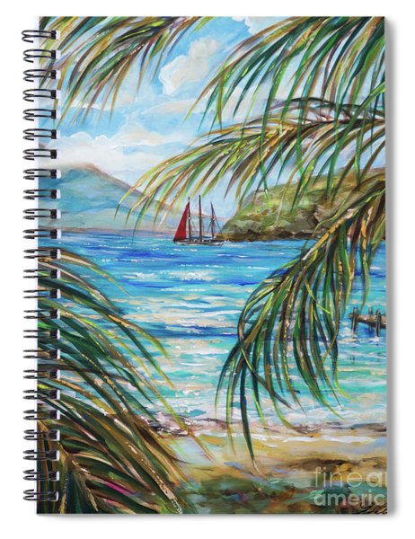 Nevis In The Distance Spiral Notebook