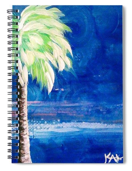 New Blue Horizons Palm Tree Spiral Notebook