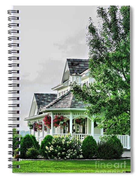 New England Beauty Spiral Notebook