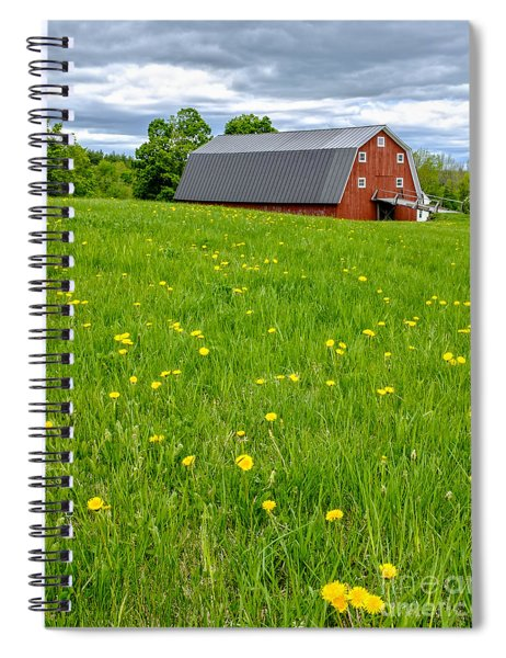 New England Landscape Spiral Notebook