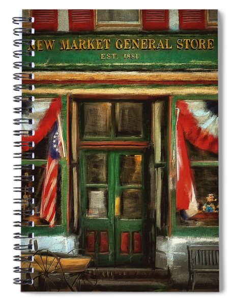 New Market General Store Spiral Notebook