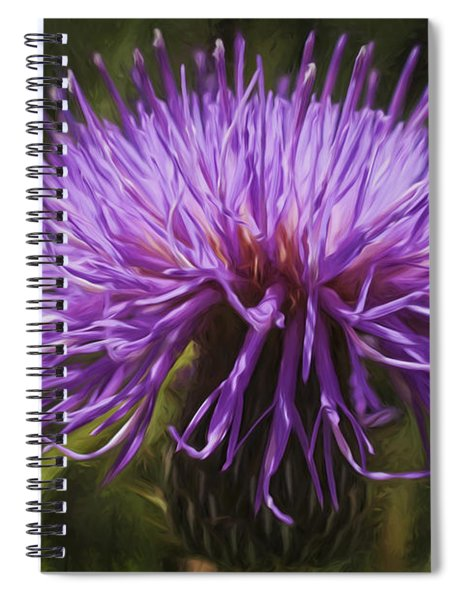 New Mexican Thistle Spiral Notebook