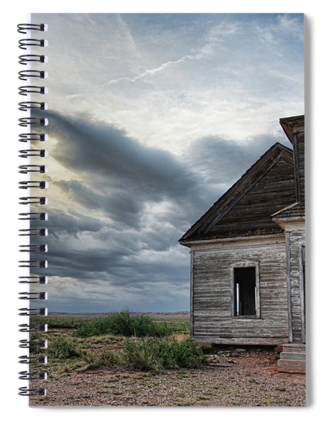 New Mexico Church # 2 Spiral Notebook