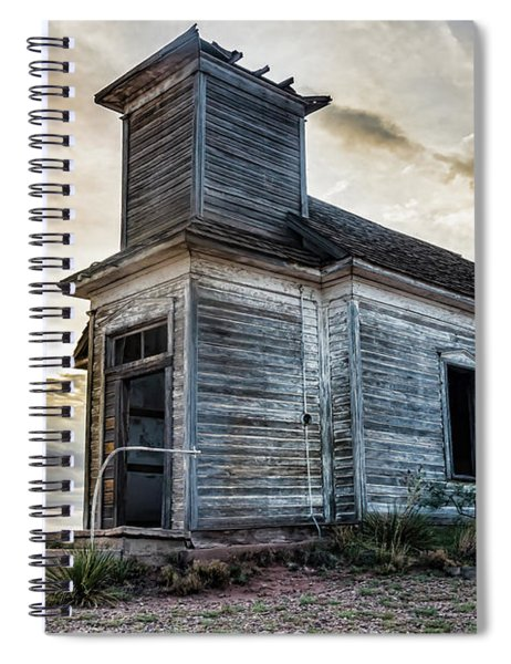 New Mexico Church #3 Spiral Notebook