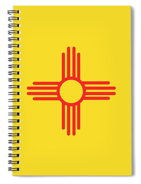 New Mexico State Flag Spiral Notebook