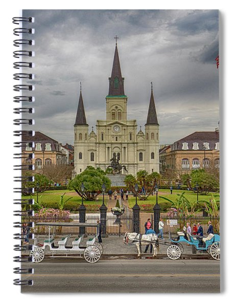 New Orleans Jackson Square Spiral Notebook