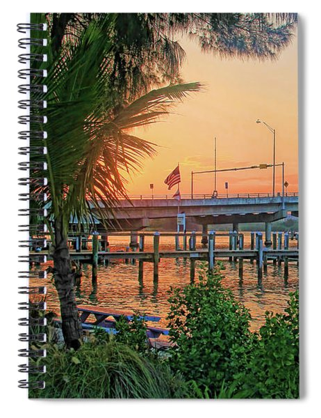 New Pass Bridge 2 Spiral Notebook