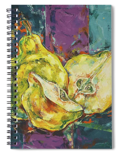 The Three Quinces Spiral Notebook