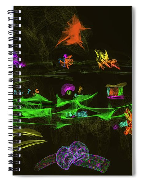 New Wold #g9 Spiral Notebook