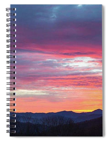 New Year Dawn - 2016 December 31 Spiral Notebook