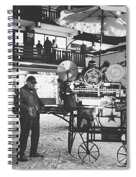 New Years Eve- Spiral Notebook