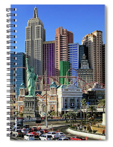 New York , New York Spiral Notebook
