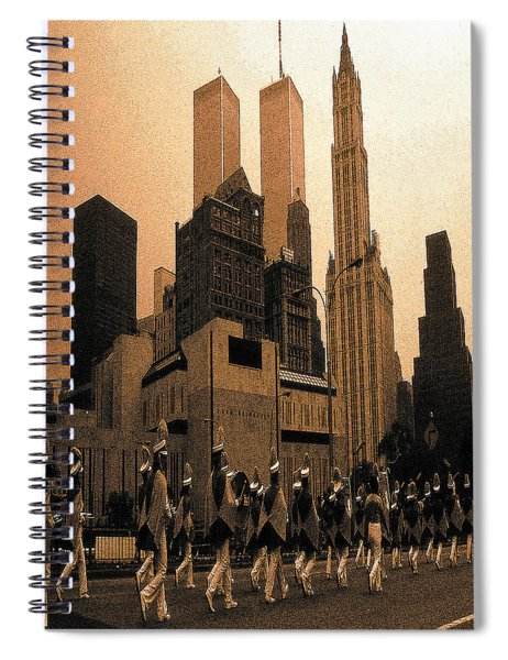 July 4th Parade New York City Spiral Notebook