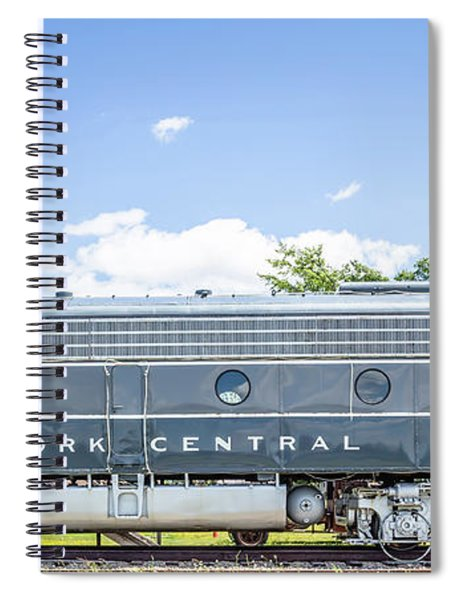 New York Central System Locomotive Vintage 3 Spiral Notebook