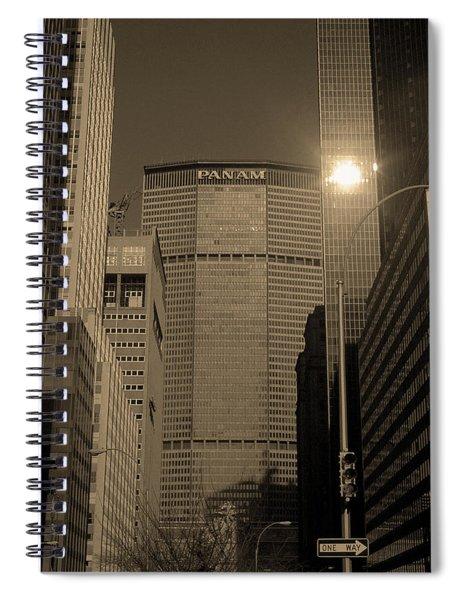 New York City 1982 Sepia Series - #7 Spiral Notebook