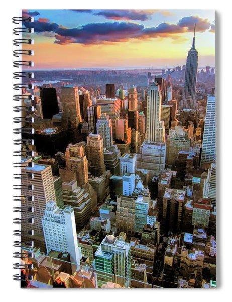 New York City Downtown Manhattan Spiral Notebook