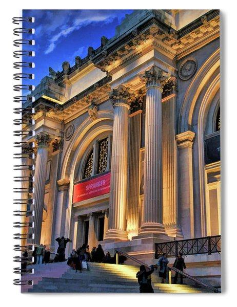 New York City Metropolitan Museum Of Art Spiral Notebook