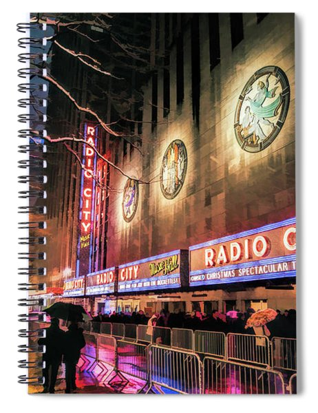 New York City Radio City Music Hall Spiral Notebook