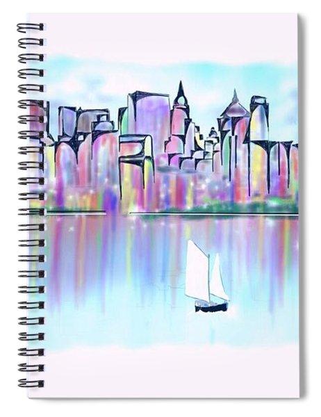 New York City Scape Spiral Notebook