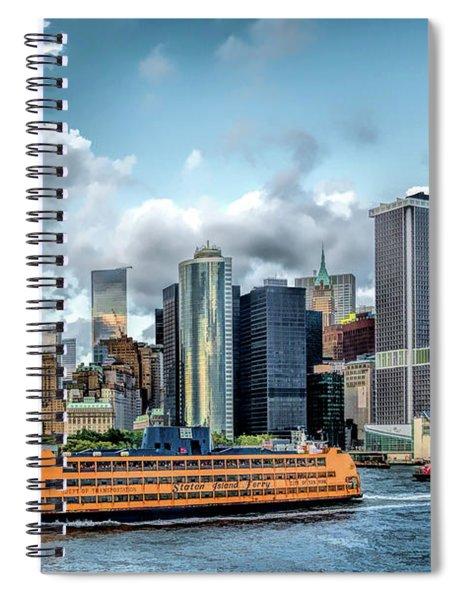 New York City Staten Island Ferry Spiral Notebook