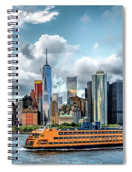 New York City Staten Island Ferry Spiral Notebook
