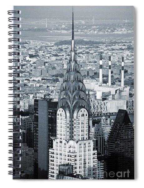 New York City - Usa - Chrysler Building Spiral Notebook