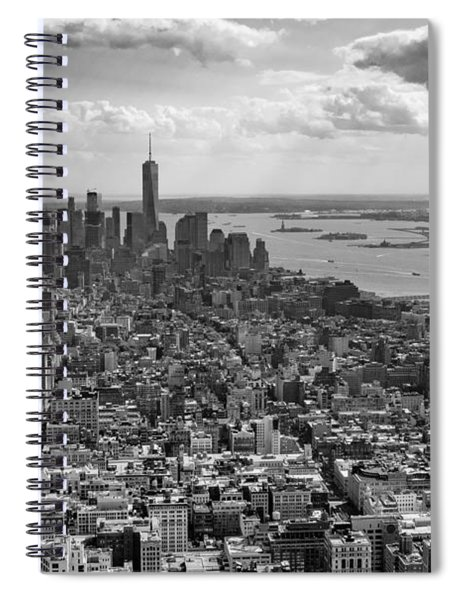 New York City - View From Empire State Building Spiral Notebook