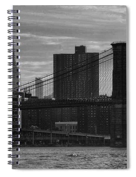 New York Landmarks Spiral Notebook