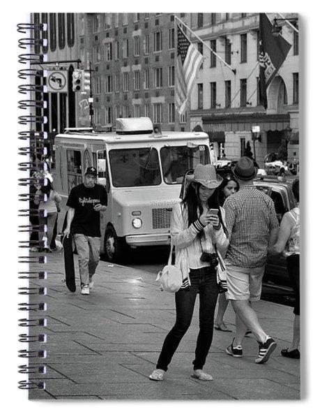 New York, New York 19 Spiral Notebook