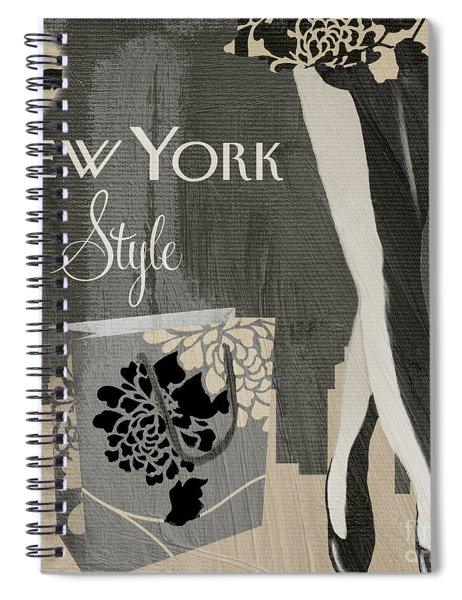 New York Style I Spiral Notebook