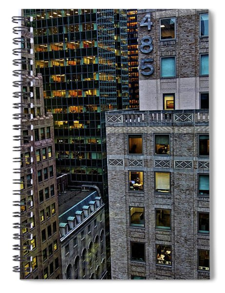 New York Windows Spiral Notebook