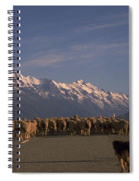 New Zealand Mt Cook Spiral Notebook