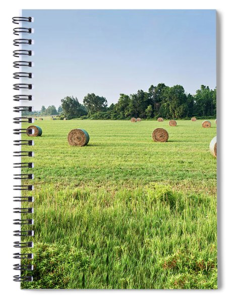 Newly Baled Hay Spiral Notebook