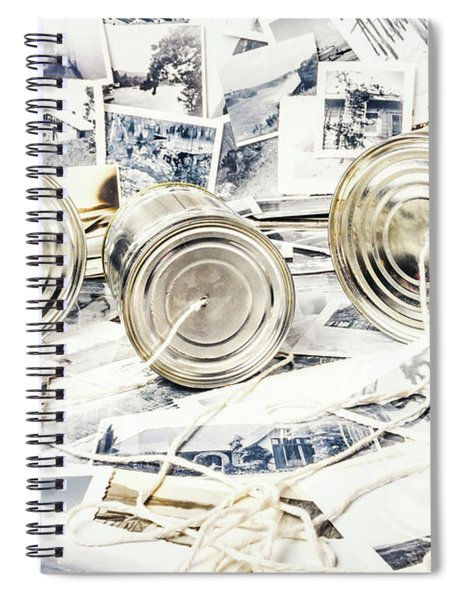 News Room Switchboard Spiral Notebook