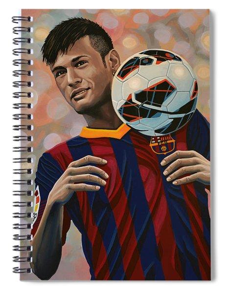 Neymar Spiral Notebook