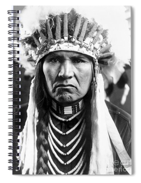 Nez Perce Native American - To License For Professional Use Visit Granger.com Spiral Notebook