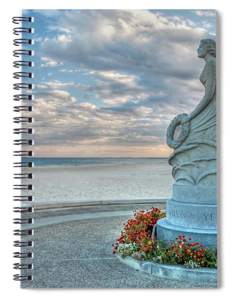 New Hampshire Marine Memorial Spiral Notebook