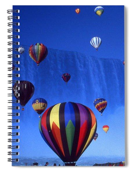 Niagara Balloons - Fantasy Art Collage Spiral Notebook