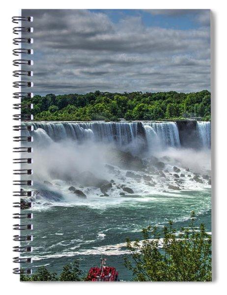 Niagara Falls 2 Spiral Notebook