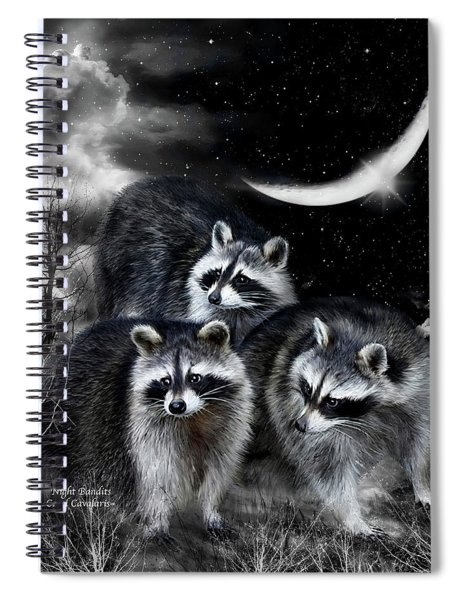 Night Bandits Spiral Notebook