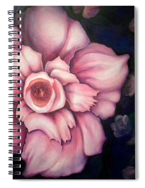 Night Blooms Spiral Notebook