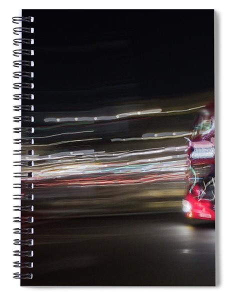 Night Chase Spiral Notebook