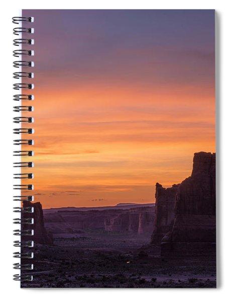 Night Falls Gently Spiral Notebook