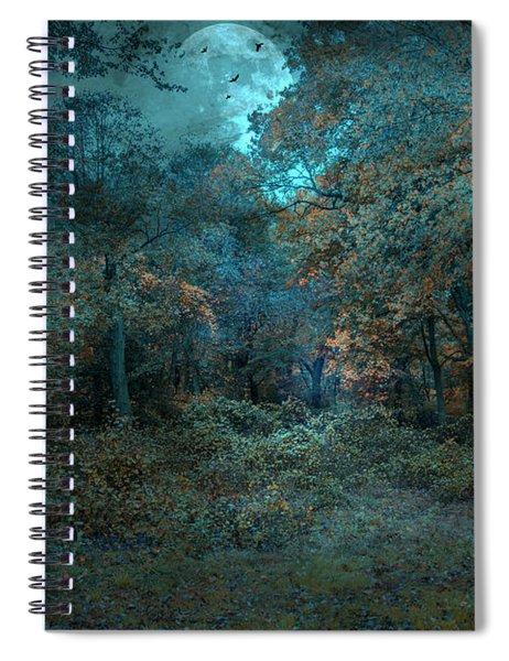 Night Spiral Notebook