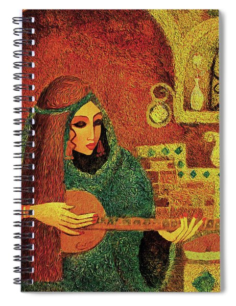 Night Music 3 Spiral Notebook