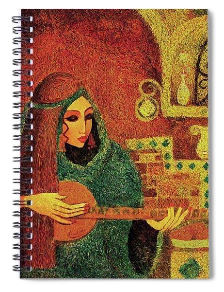 Night Music 3 Spiral Notebook